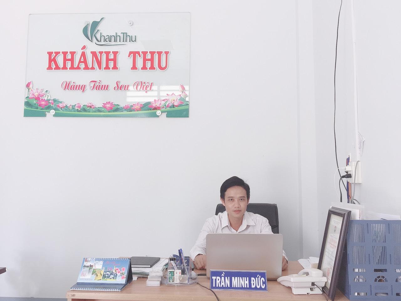 """CEO công ty Khánh Thu – Trần Minh Đức: """"Chúng tôi gởi gắm tình yêu quê hương vào trong từng sản phẩm"""""""