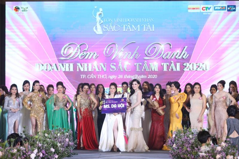 """Ms. Dạ hội Nguyễn Thị Hồng Thảo: """"Chúng tôi đã có những giây phút tuyệt vời từ Sắc Tâm Tài 2020"""""""